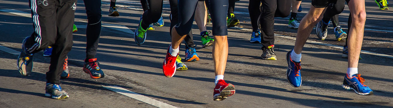 Socks and technical clothing for running and athletics