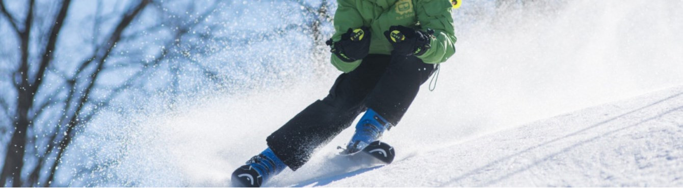 Socks and technical clothing for skiing.